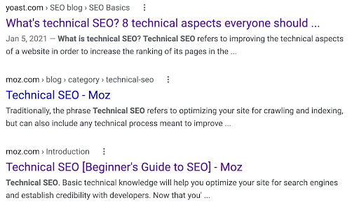 SEO basics of how search engines work.