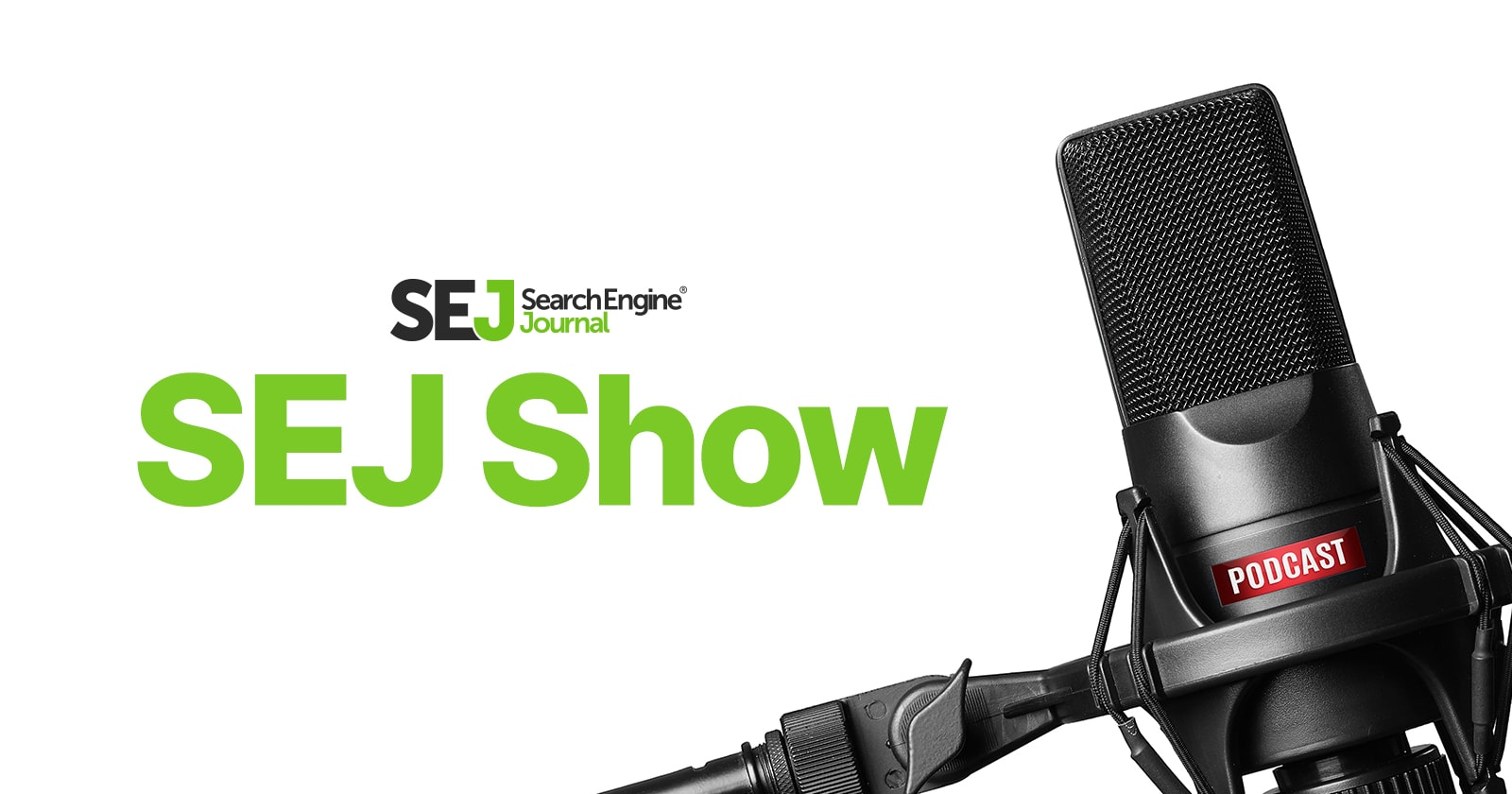 Logo for the Search Engine Journal Show.