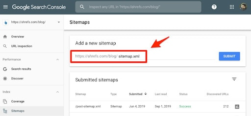 How to submit multiple sitemaps to Google.