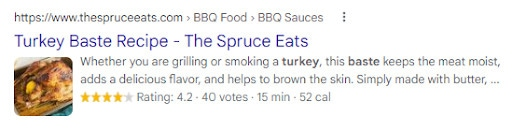 An example of how to use your focus keyword in the meta description.