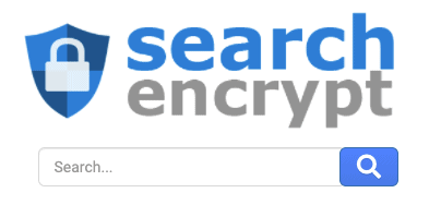 A screenshot of the alternative search engine Search Encrypt.